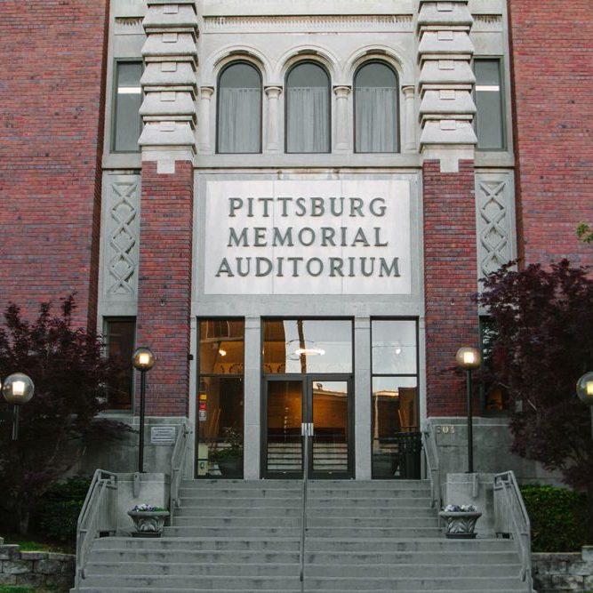 'Pittsburg Memorial Auditorium