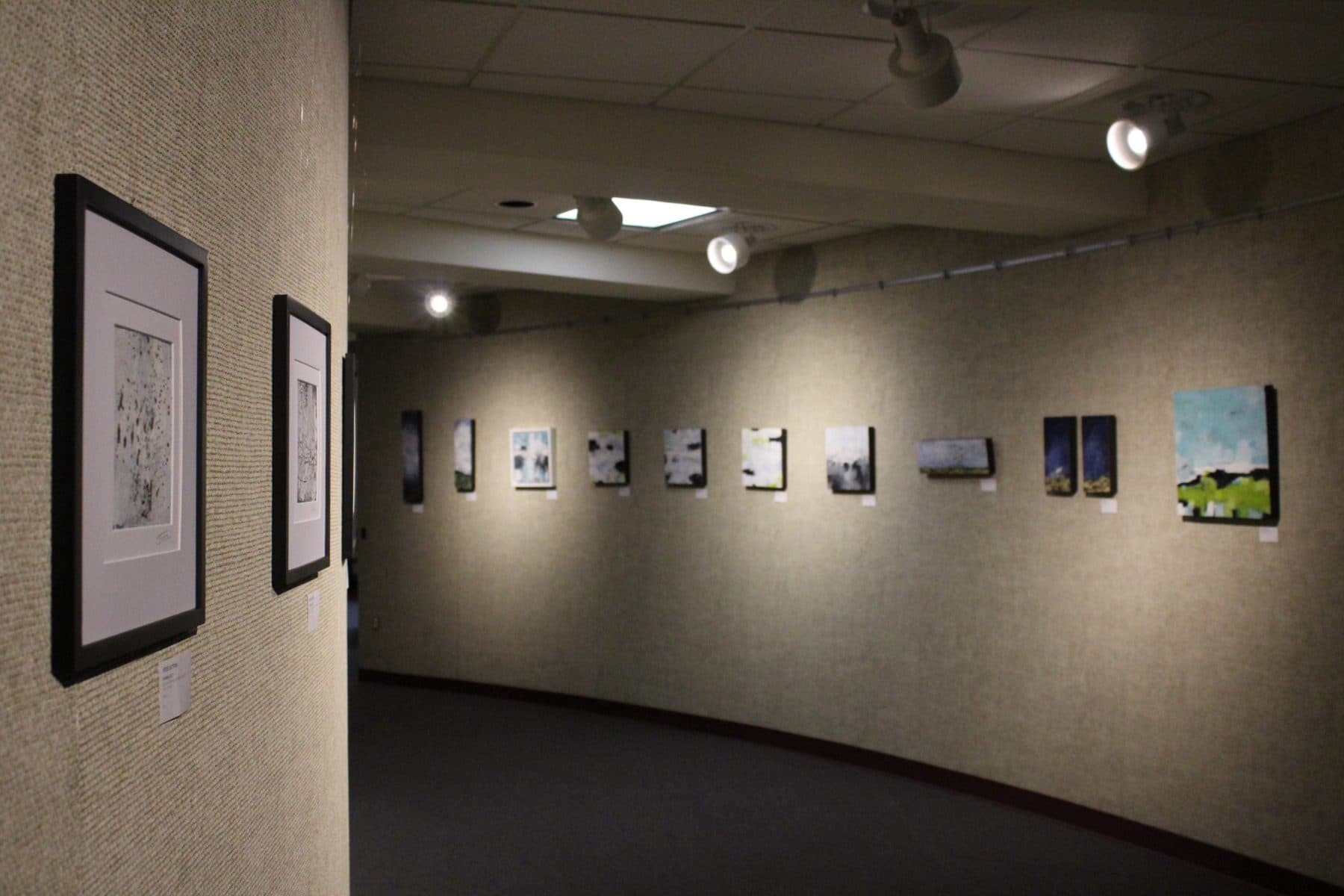 'Beverly Corcoran Art Gallery at the Memorial Auditorium, Pittsburg, Kansas