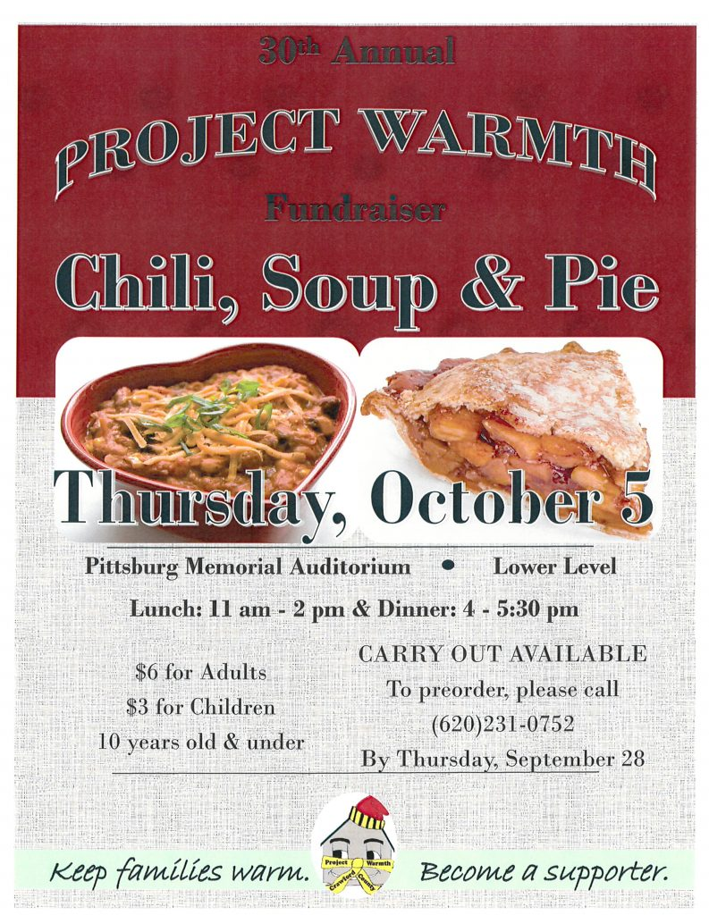 project warmth flyer