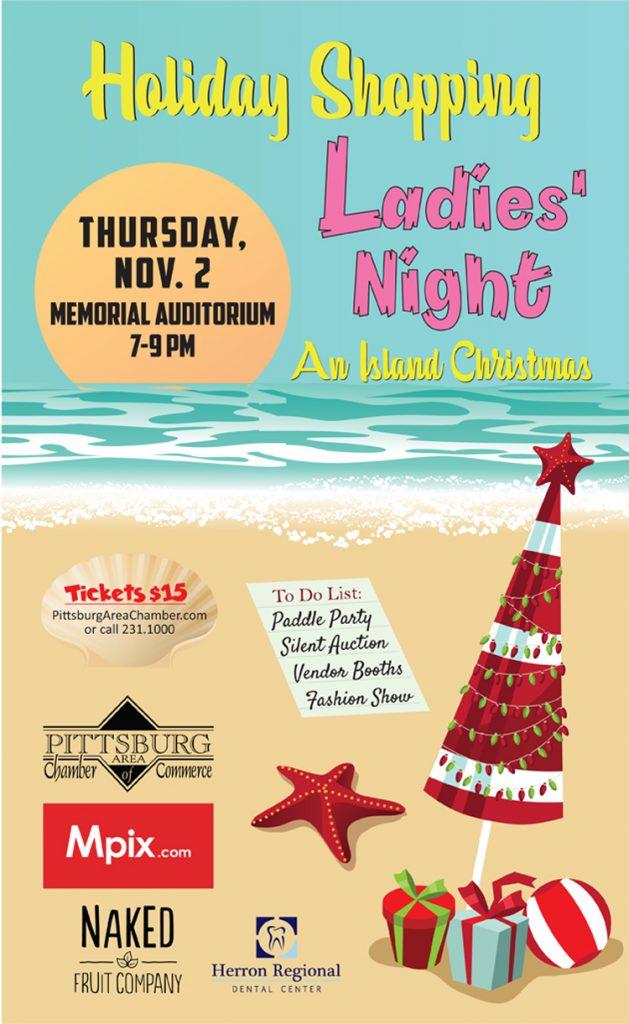 Ladie's Night poster