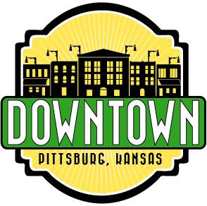 Downtown Pittsburg, Kansas logo