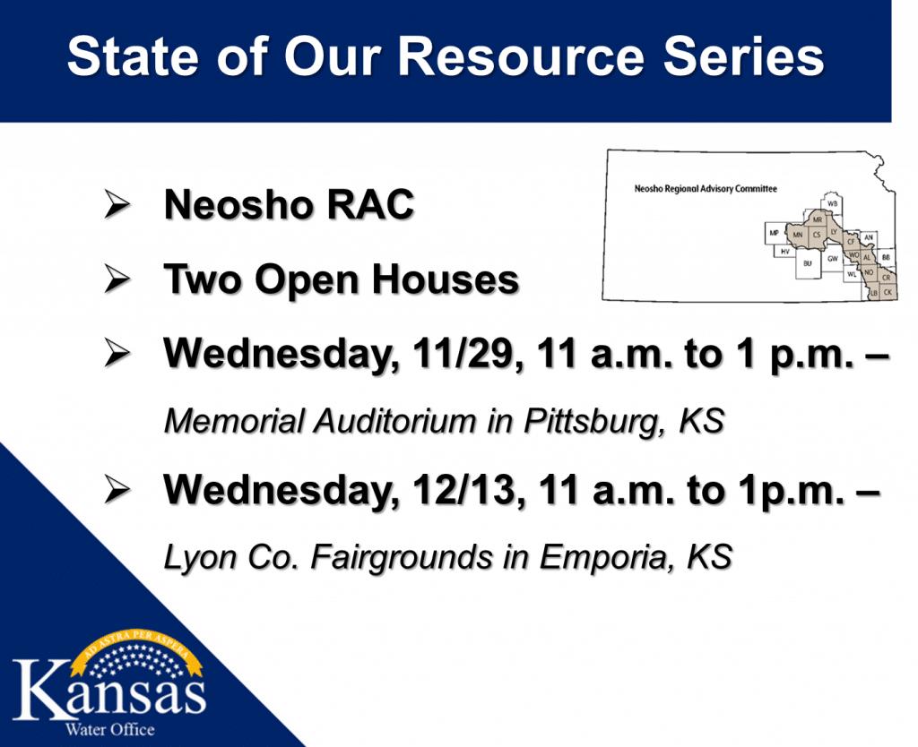Neosho RAC Open House