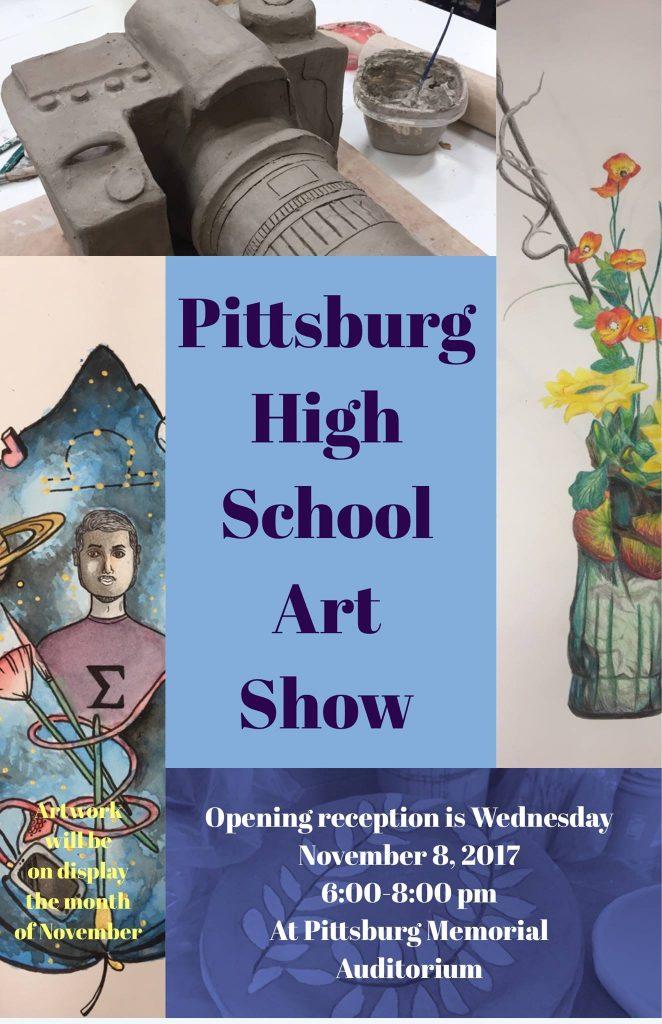 Pittsburg High School art show
