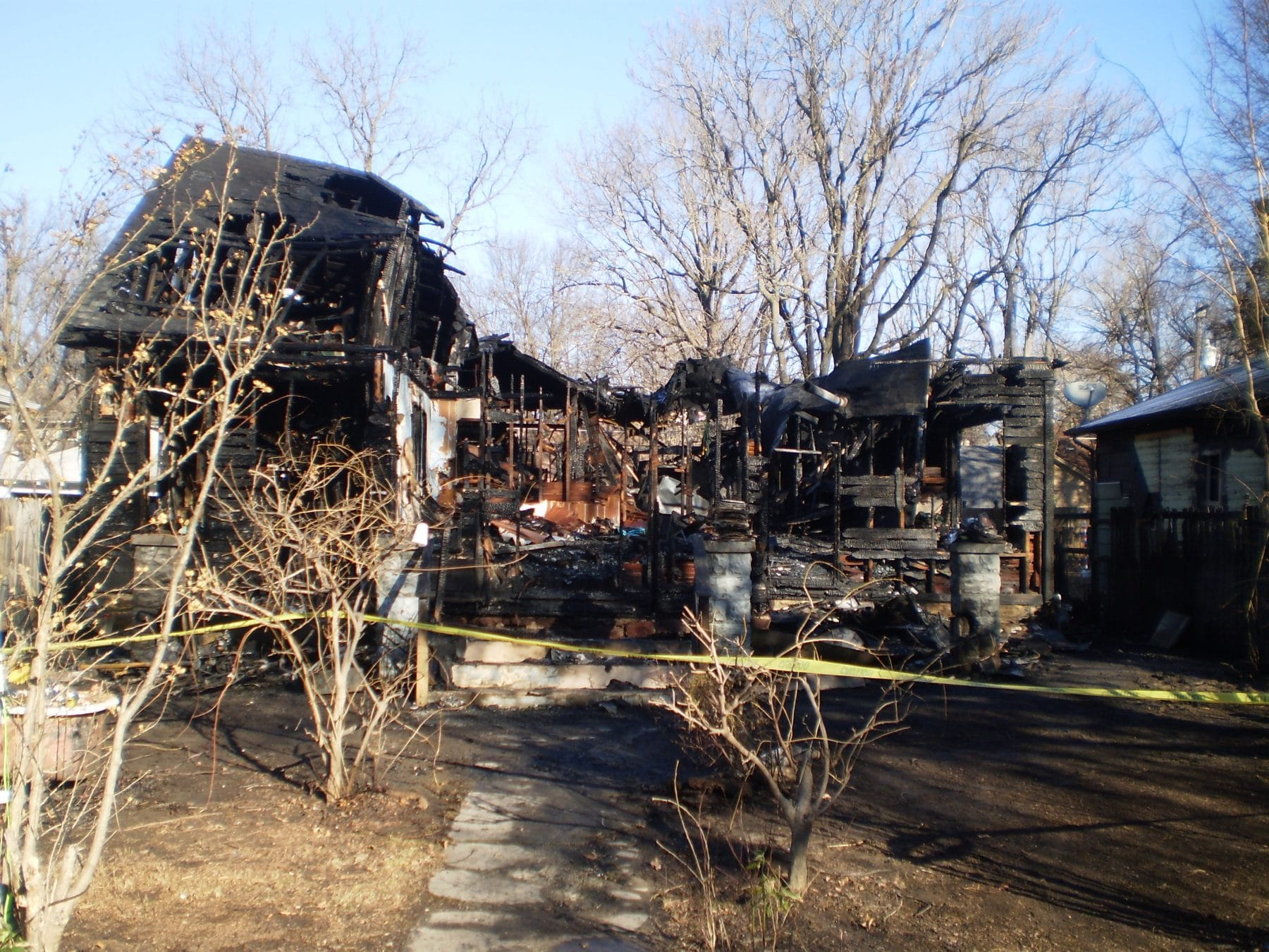 One person rescued in early morning structure fire
