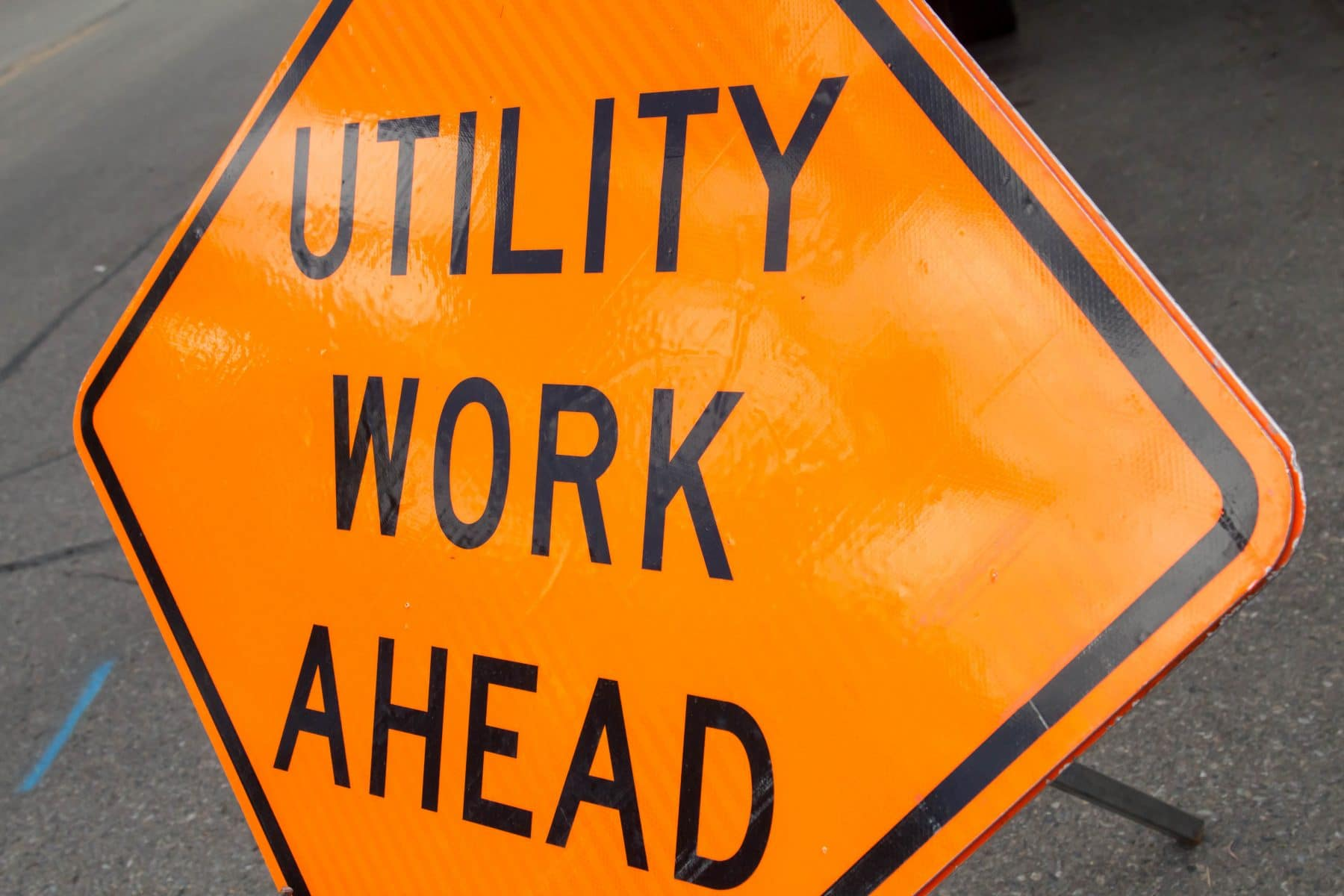 Portions of North Broadway Street to be closed for utility-related work