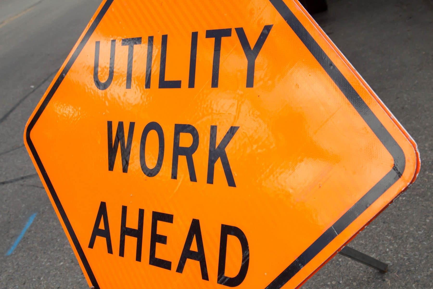Utility Work to Temporarily Close Street