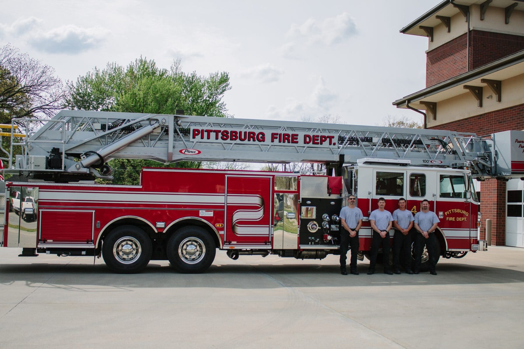 Pittsburg firefighters take steps to honor fallen heroes