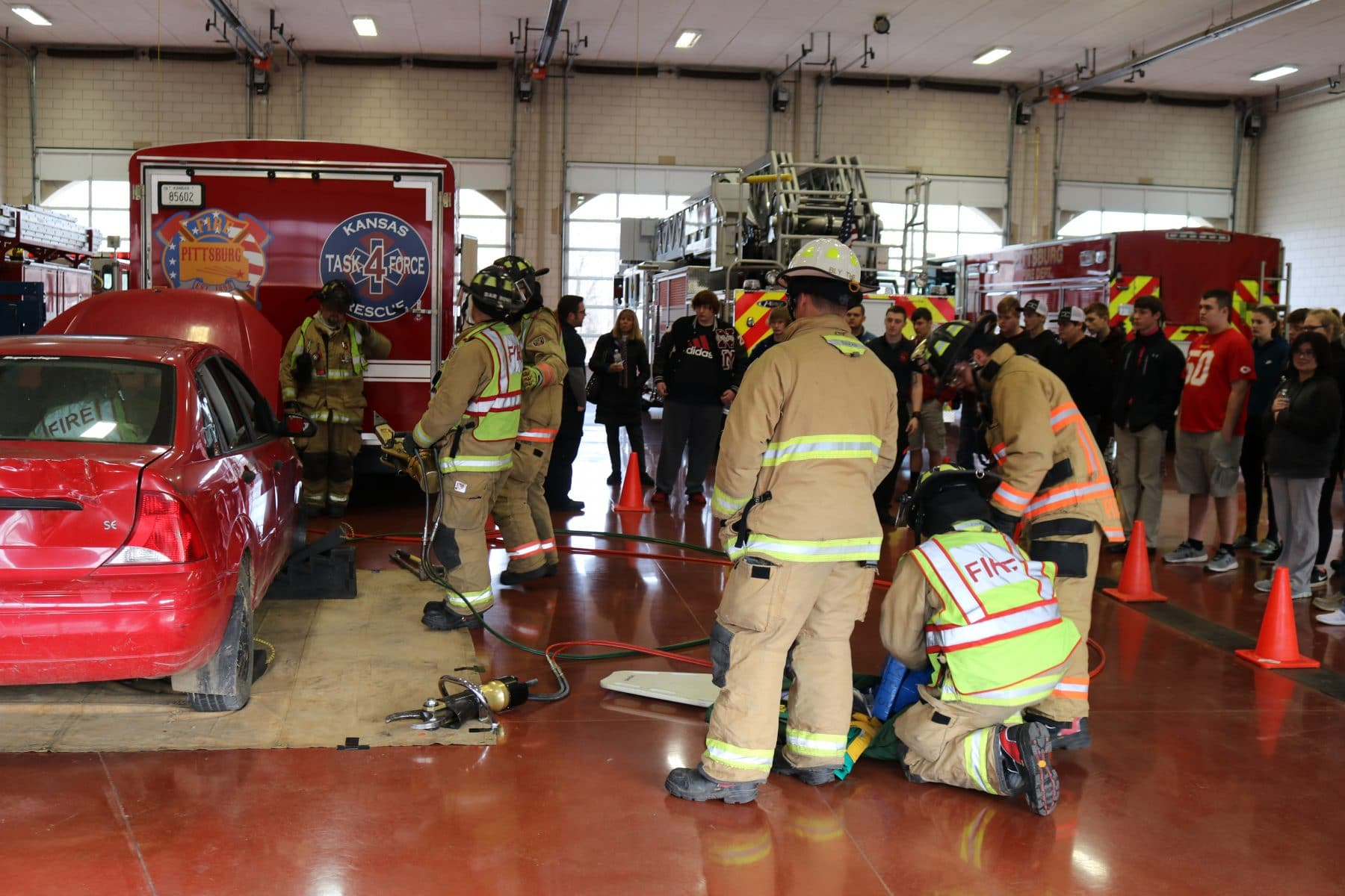 Fire science program connects students with career opportunities