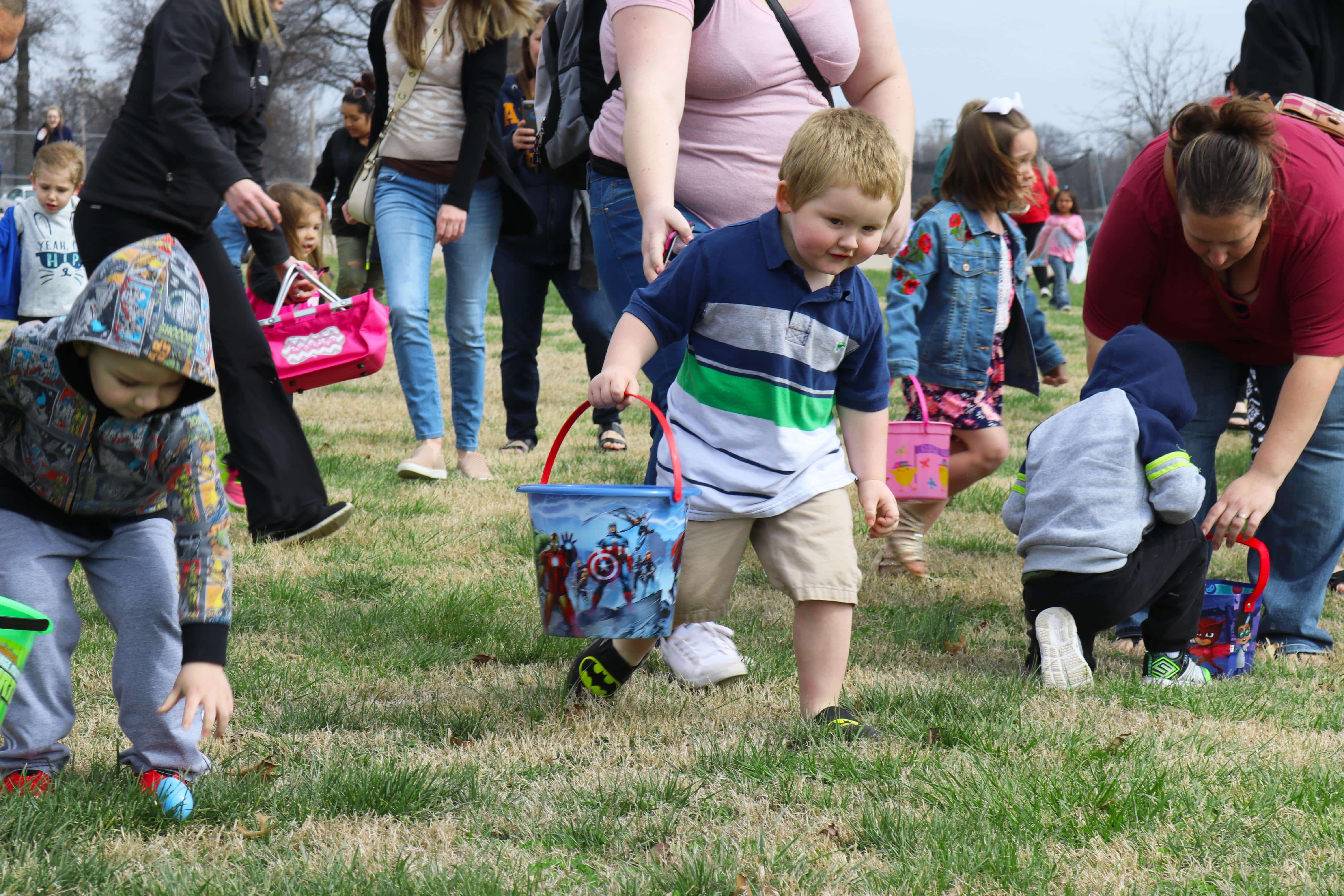 Pittsburg Parks & Recreation hosts 10th annual Easter Egg Hunt