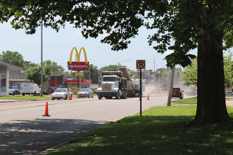 Street improvements begin on Broadway