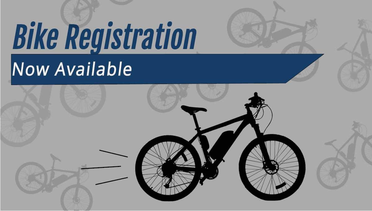 New Bike Registration Program