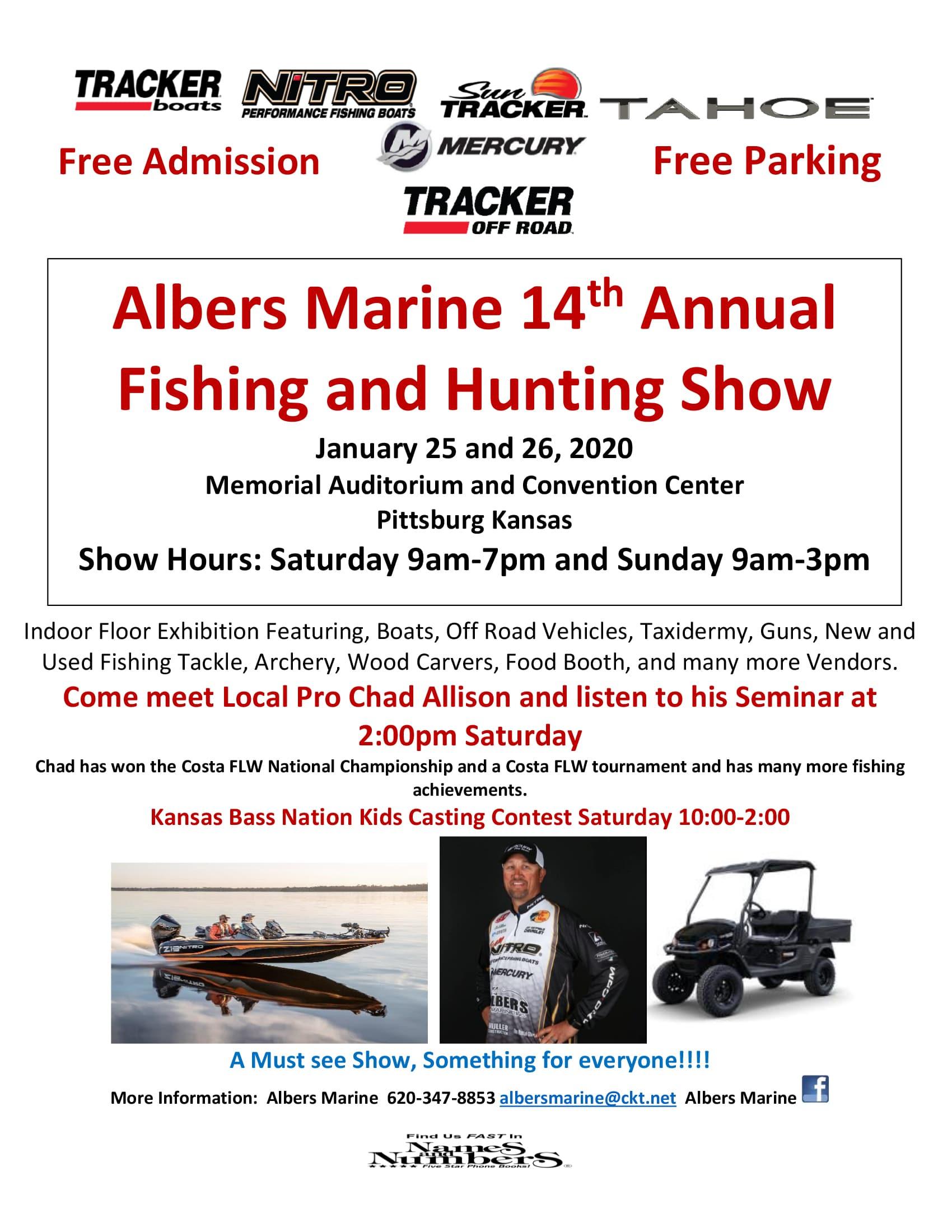 Albers Marine Hunting & Fishing Expo