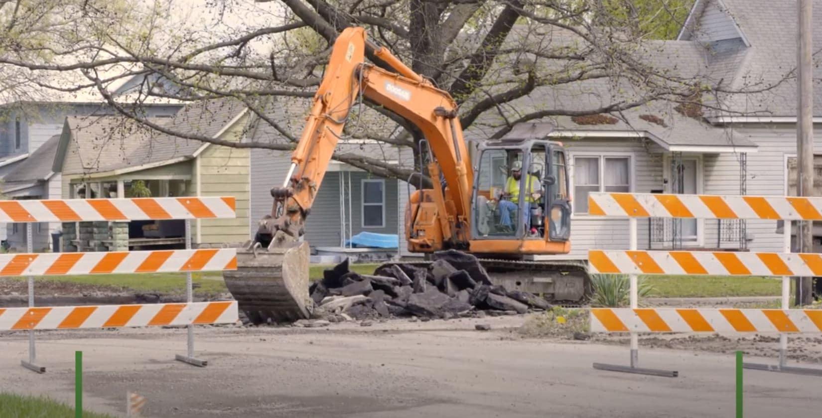 Report of Road Closure – North Joplin Street