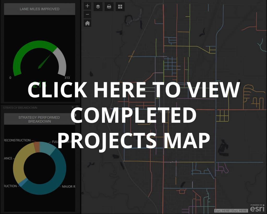 Completed Projects Map