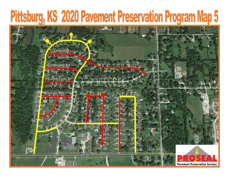 Street Work to Begin Monday, September 14, 2020