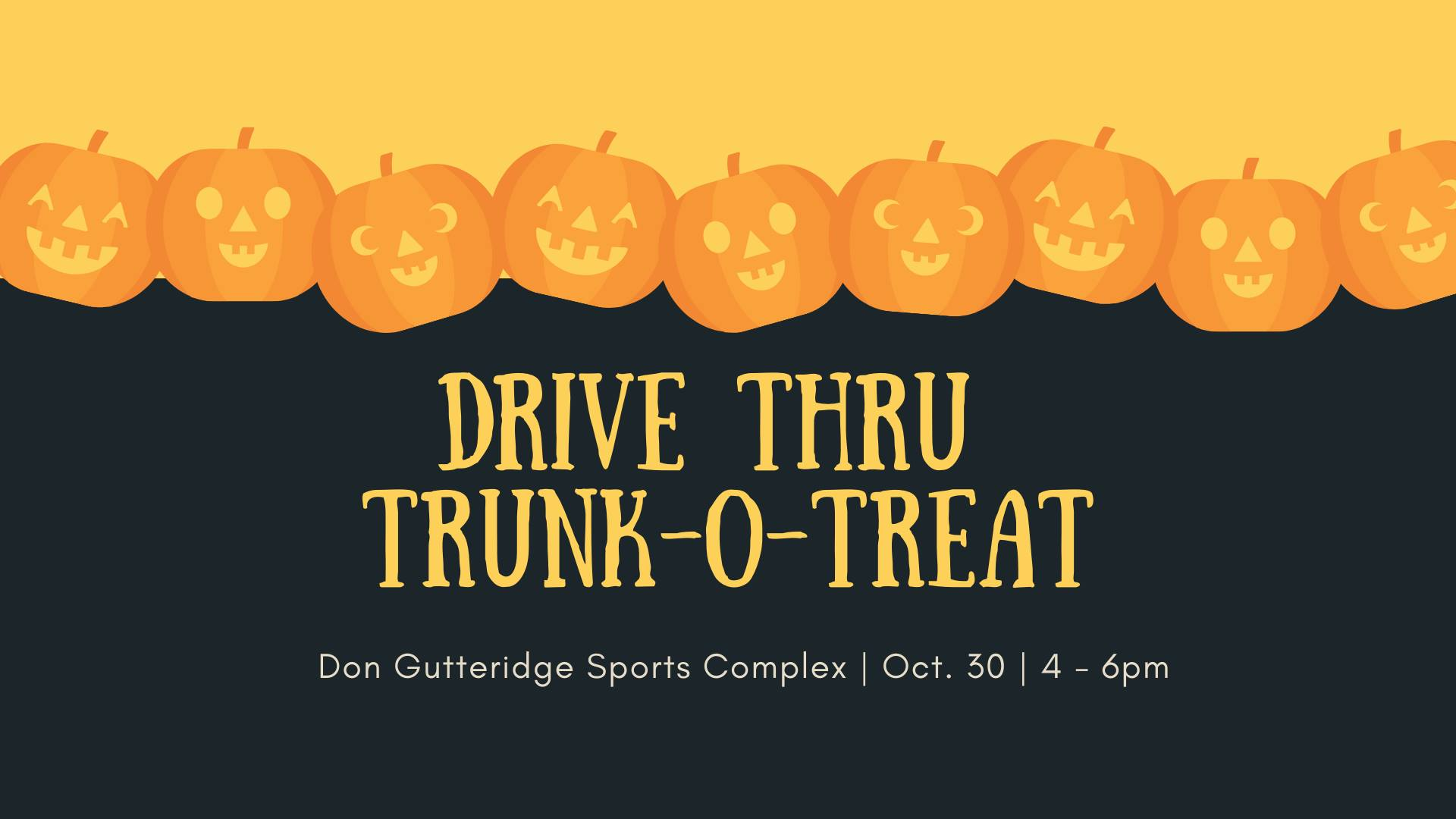 """Pittsburg Parks & Recreation Department to host drive through """"Trunk-O-Treat"""""""