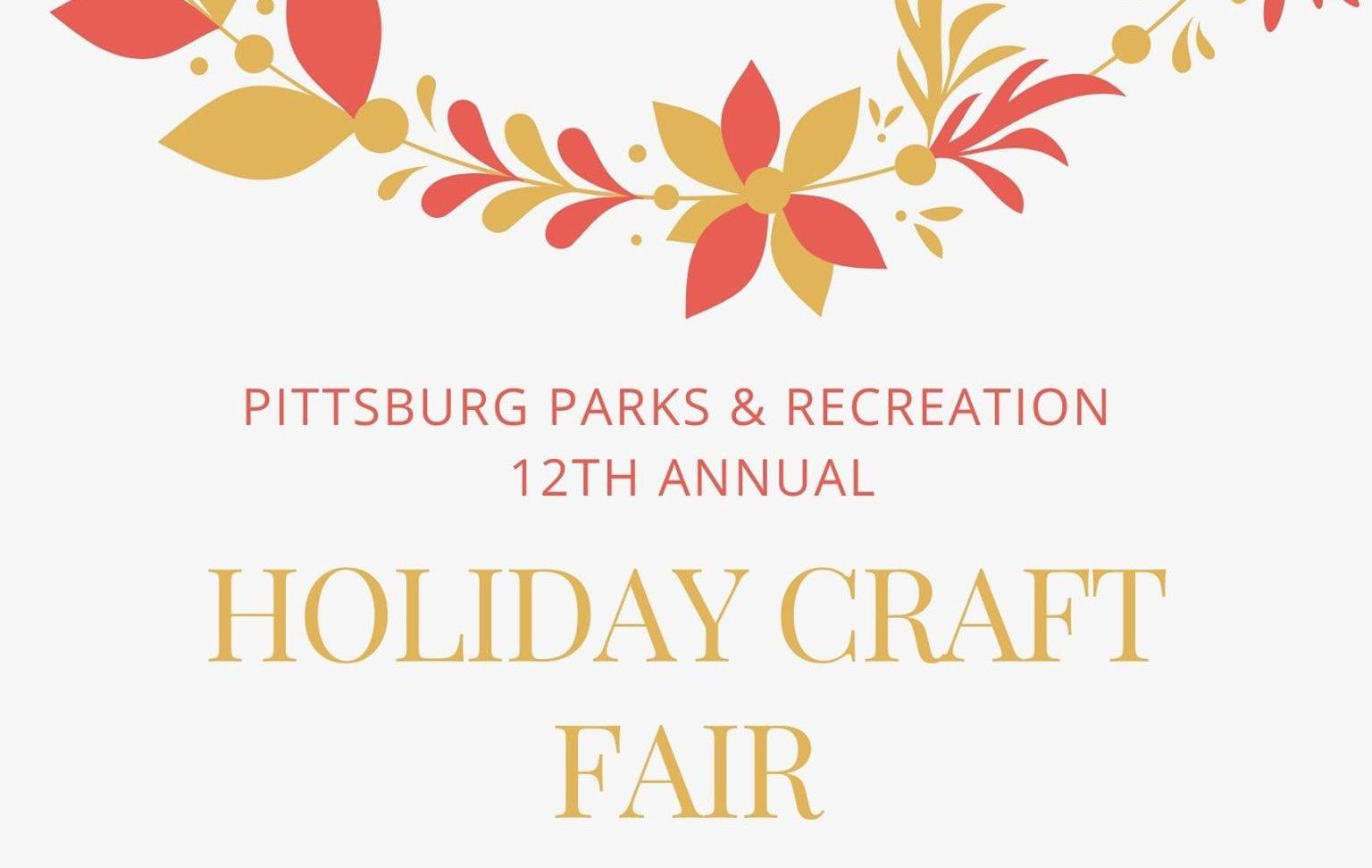 Pittsburg Holiday Craft Fair set for Nov. 14