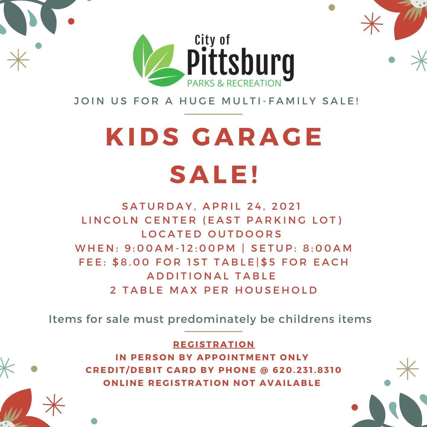 Kids Garage Sale Flyer