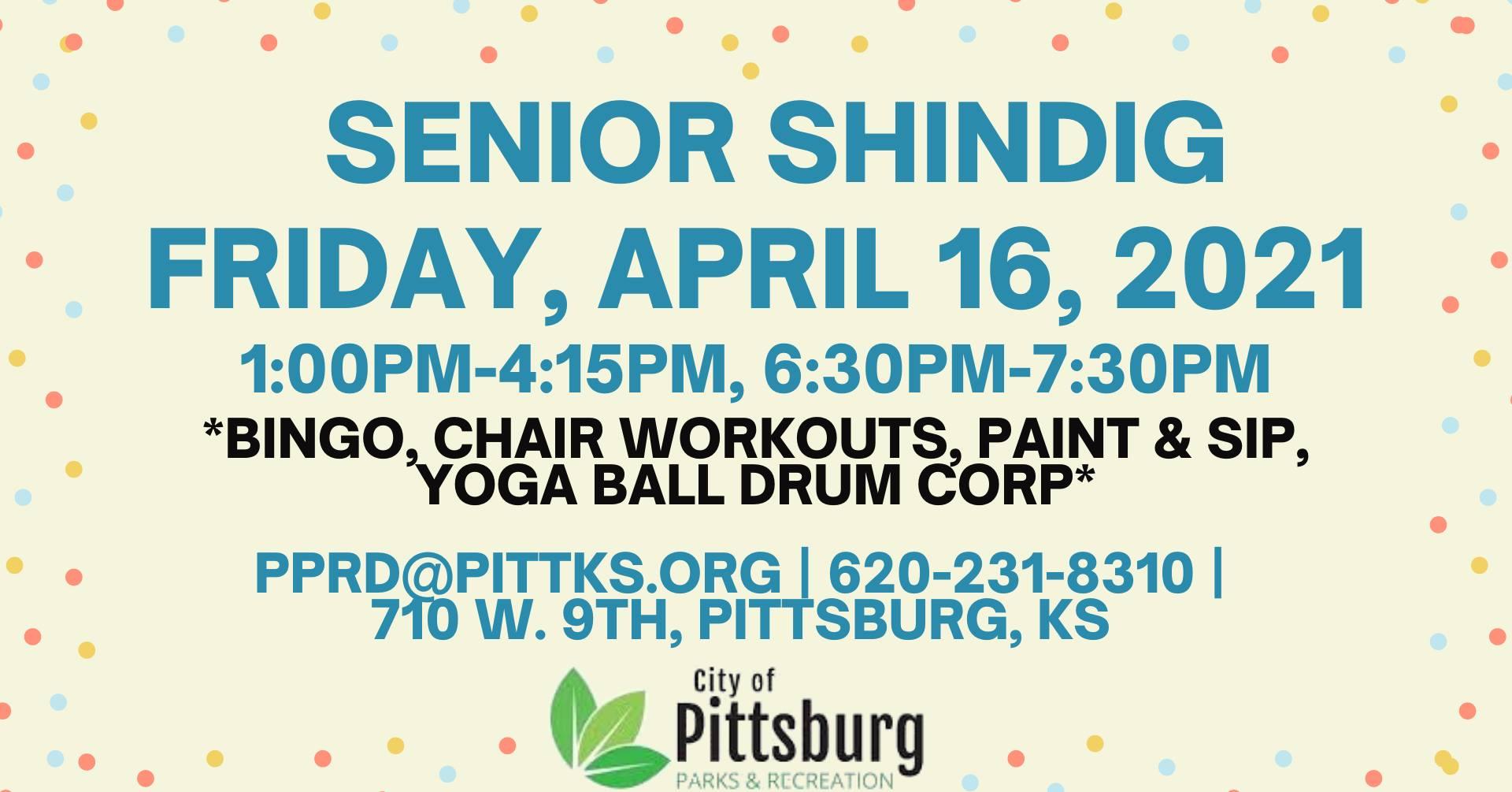 Senior Shindig Event image