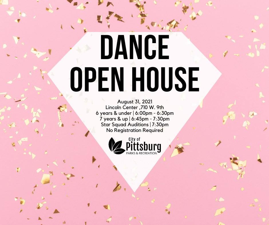 dance open house