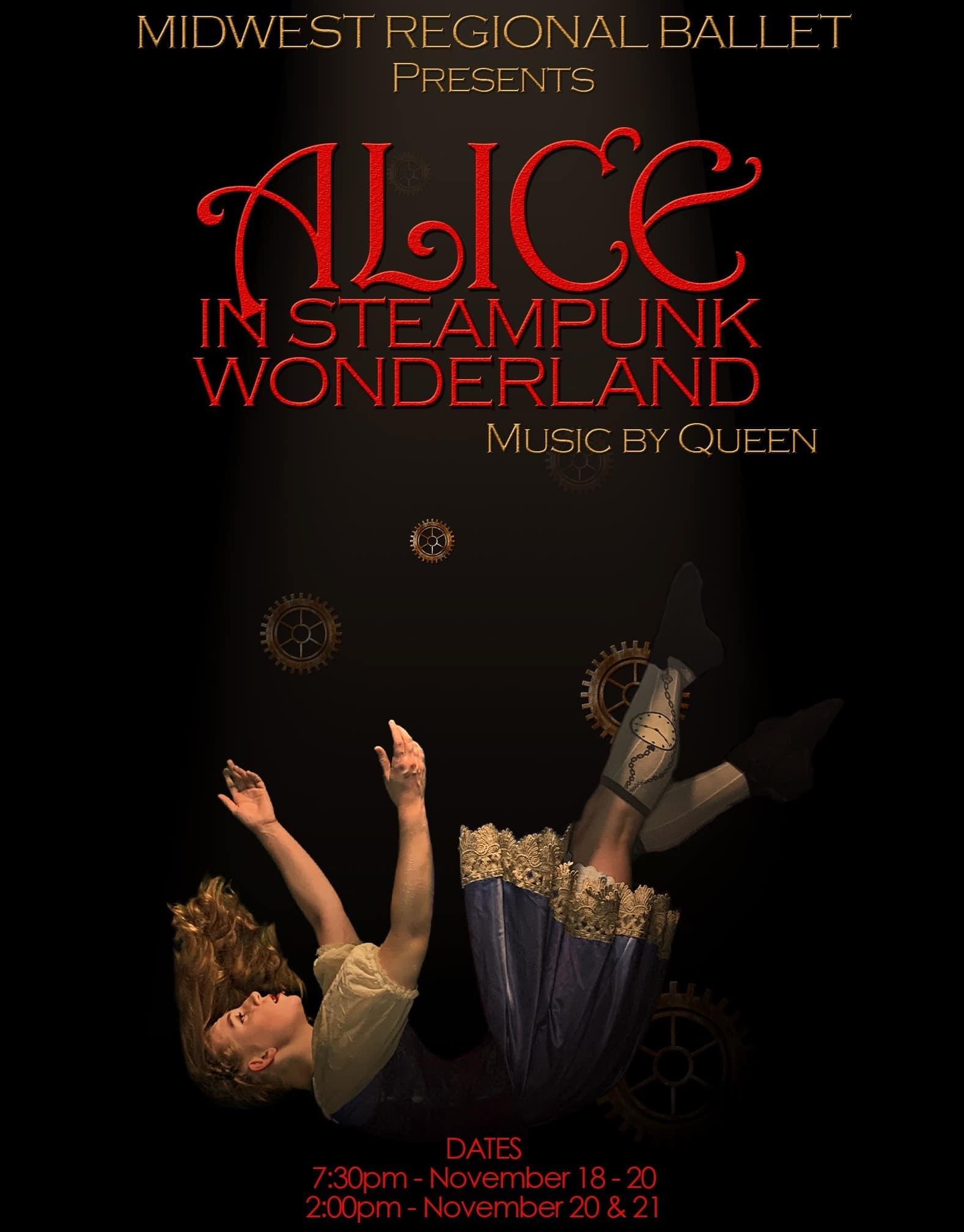 Midwest Regional Ballet Presents Alice in Steampunk Wonderland